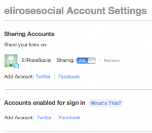 Bitly-twitter-share-settings