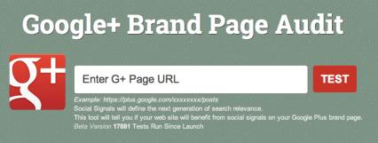 Steady Demand Google+ Audit Tool
