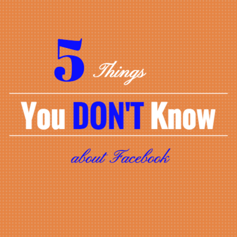 Things you may not realize about facebook