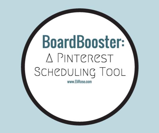 BoardBooster, a Pinterest Scheduling Tool