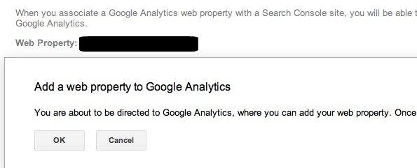 Add a website to Google Analytics