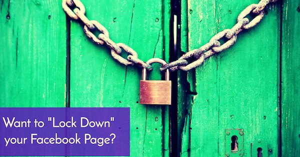How to Control Facebook Visitor Posts and Comments on Business Page