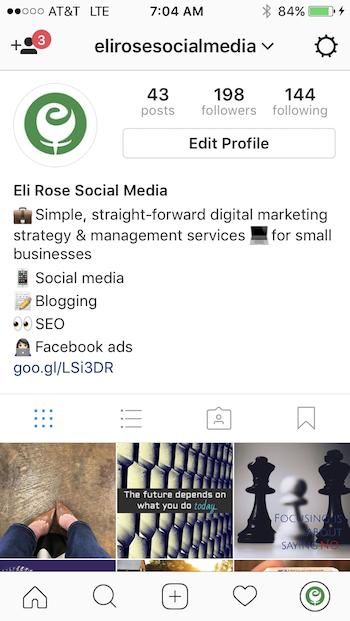 Complete Instagram Bio