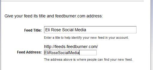 Feedburner, RSS