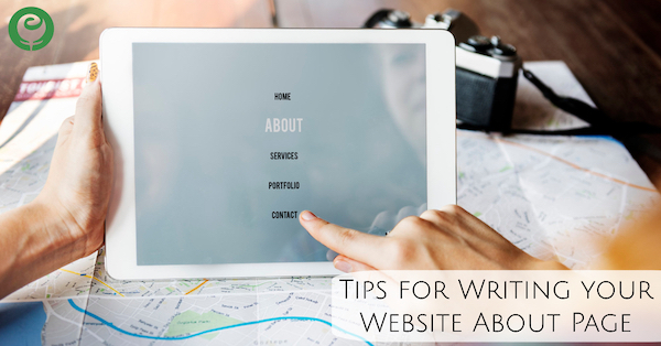 Tips for Writing your Website About Page