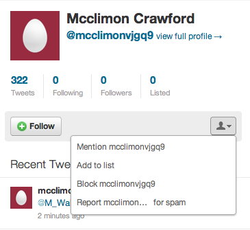 Twitter-Report-Spam