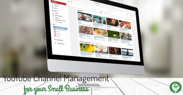 YouTube Channel Management for your Small Business