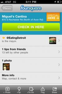Foursquare-mayor-badge