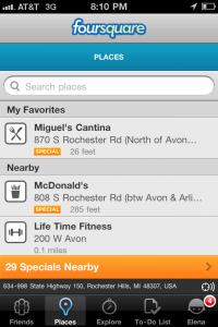FourSquare-location-list