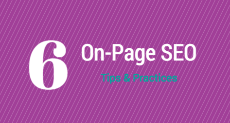 6 On-page SEO Tips