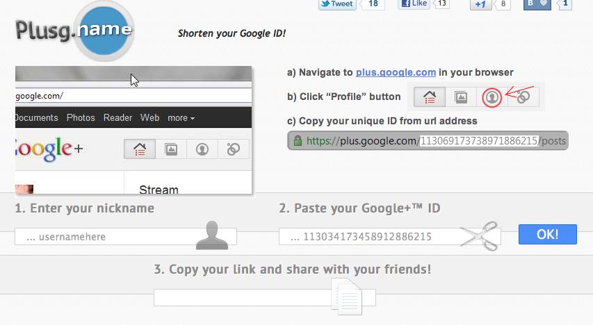 PlusG-Name-Google-Plus-Profile-Shortener