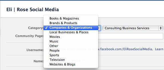 facebook-fan-page-category