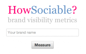 HowSociable-social-search-tool