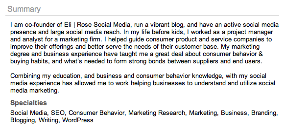 LinkedIn-Profile-Summary
