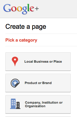 Google-Plus-Business-Page-Category