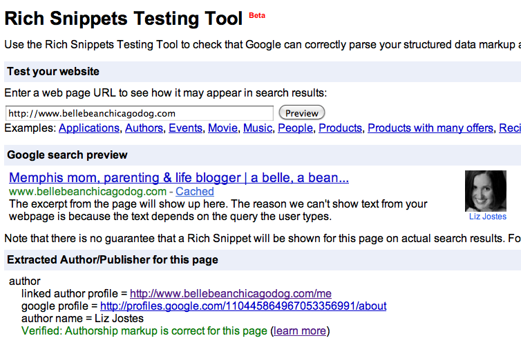 rich-snippets-testing-tool