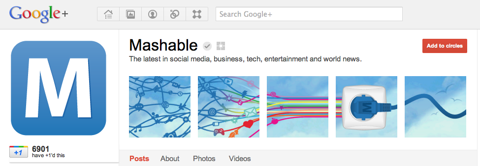 how to add photos to your google plus page