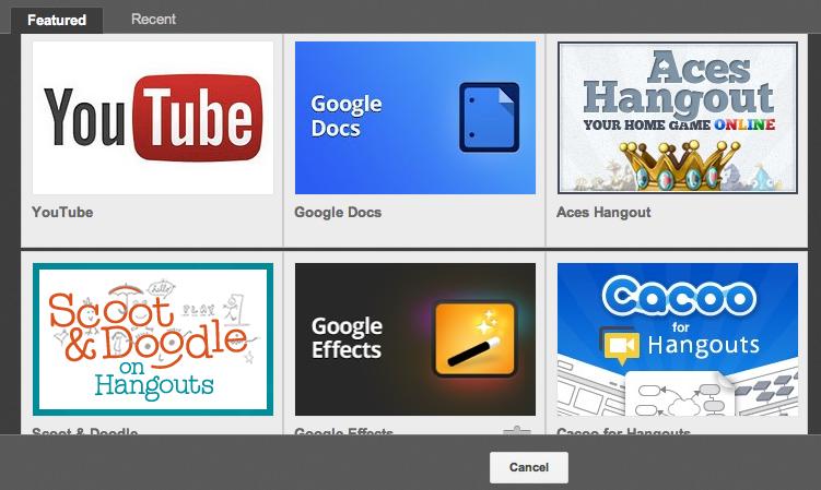 google-plus-hangout-apps