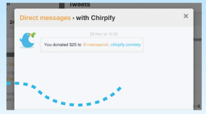Donate-with-chirpify