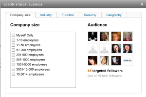 Choose-Targeted-LinkedIn-Company-Update-Audience
