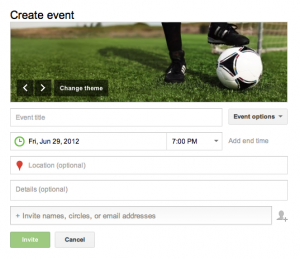 Creating-new-google-plus-event