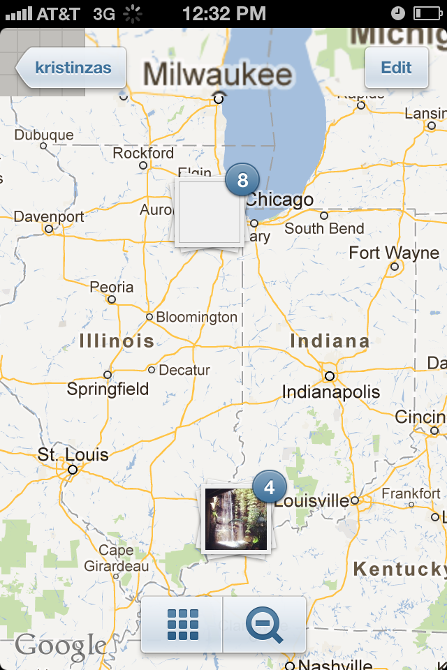 Instagram-photo-map