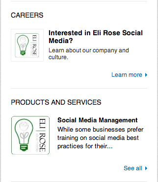 linkedin-product-service-highlights