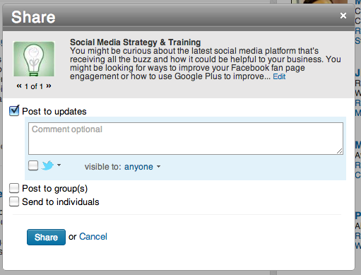 Share-LinkedIn-Recommendation