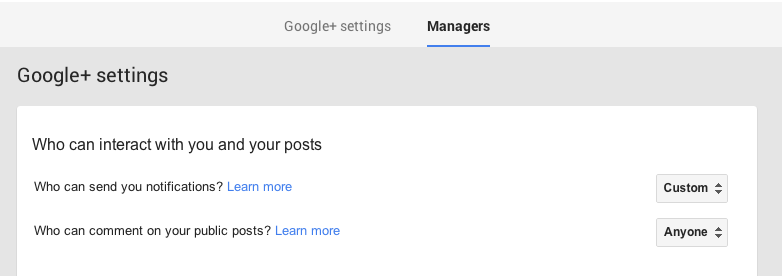 google-plus-page-manager