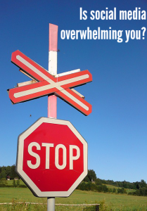 5 Things to do when you are experiencing social media overload