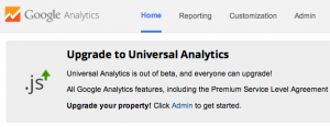 How to Upgrade to Universal Google Analytics & get Demographics and Interests Data