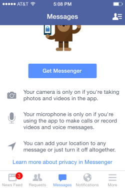 Should I download Facebook Messenger App?