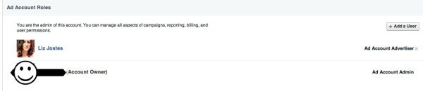 New Facebook Ads Account Admin Added
