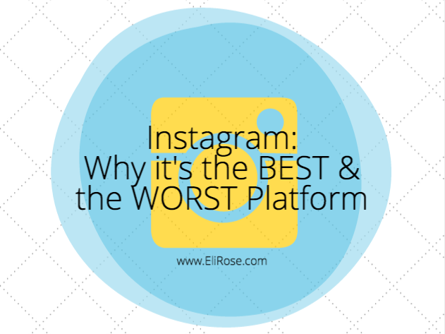 Instagram is the Best and Worst Social Media Platform