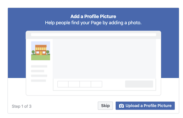 Add Facebook Business Page Details