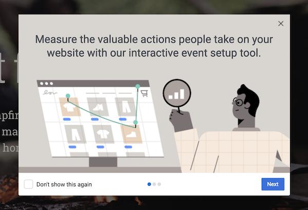 Facebook Events Pixel setup Wizard