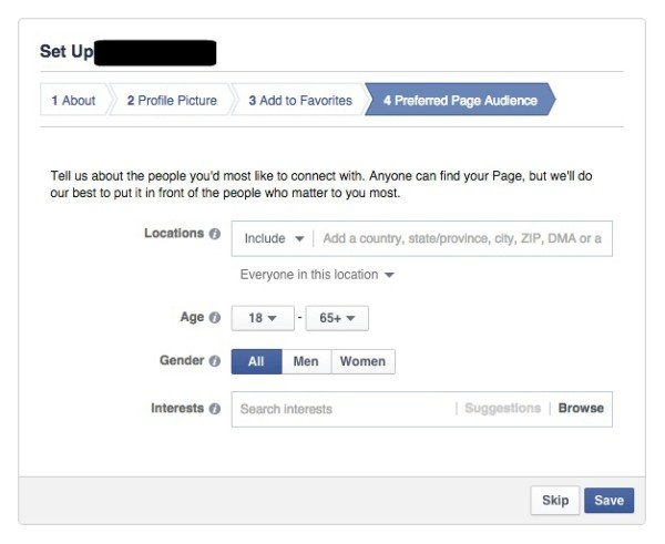 Facebook Page Preferred Page Audience