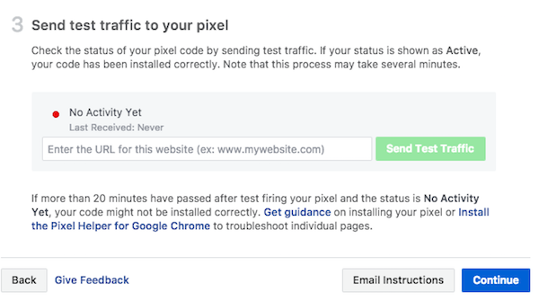 Verify Facebook Pixel installation on your website