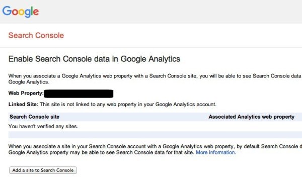 Add Site to Google Search Console