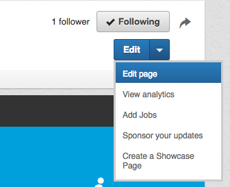 Publish LinkedIn Company Page