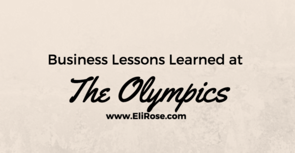 Business Lessons Learned at the Olympics