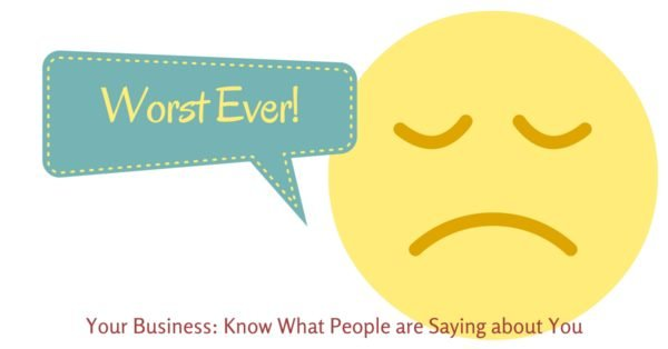 Your Business: Know What People are Saying about You