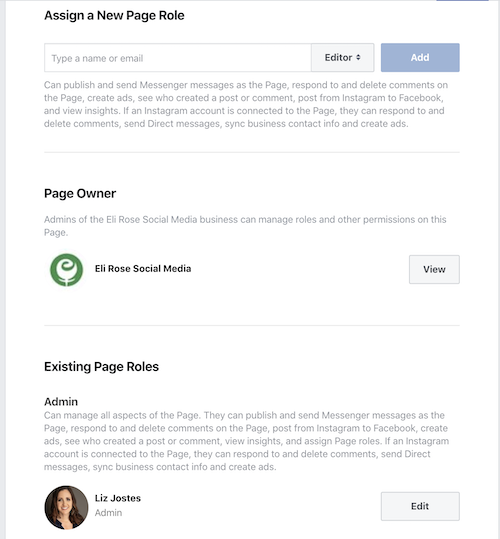 Accept Business Page into Business Manager