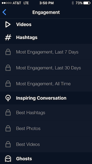 Instagram Hashtag engagement data from FollowersPlus