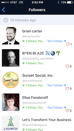 FollowersPlus New Instagram Follower Activity