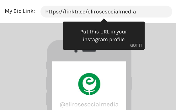 LinkTree Instagram link tool