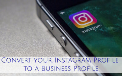 Convert your Instagram Profile to a Business Profile