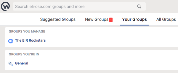 Create Groups in Workplace by Facebook