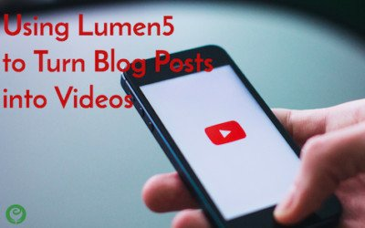Turn Blog Posts into Videos using Lumen5