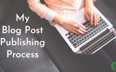 My Blog Post Publishing Process